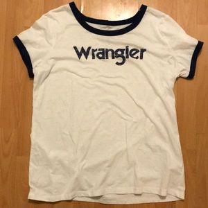 Wrangler tee shirt